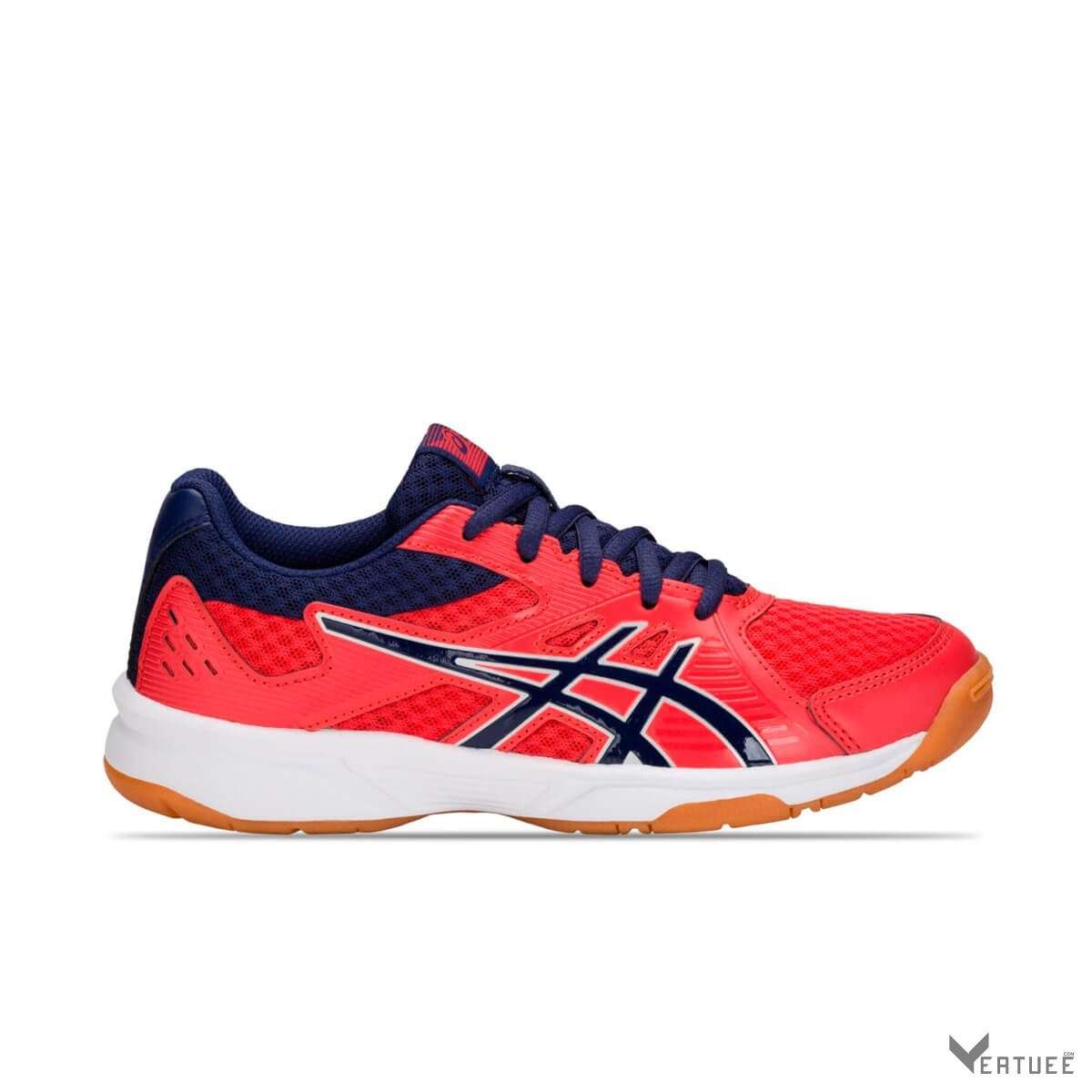 Adversario Omitir Porque  Buy Asics Upcourt 3 Red Alert/Indigo Blue Multicourt Tennis ...