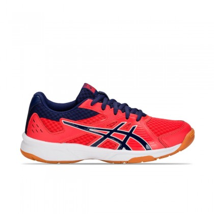 Asics Upcourt 3 Red Alert/Indigo Blue Multicourt Tennis/Badminton Shoes Online at Best Price, Reviews