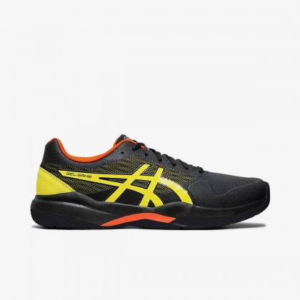 Asics Gel-Game 7 Black/Sour Yuzu Tennis Shoes Online at Best Price, Reviews