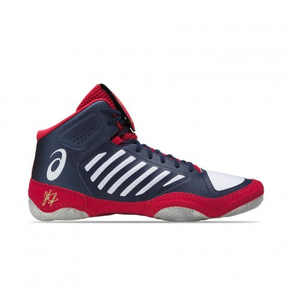 Asics JB Elite III Indigo Blue/White/Classic Red Mens Wrestling Shoes  Online at Best Price, Reviews