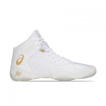 Asics JB Elite III White/Rich Gold Mens Wrestling Shoes Online at Best Price, Reviews