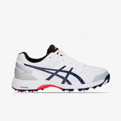 Asics Gel-300 Not Out White/Peacoat Spike Cricket Shoes Online at Best Price, Reviews
