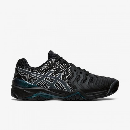 Asics GEL-Resolution™ 7 L.E. Black/Silver Tennis Shoes Online at Best Price, Reviews
