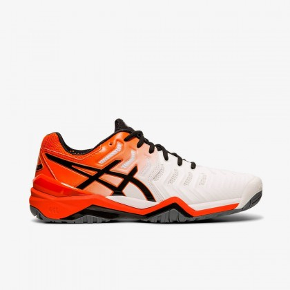 Asics GEL-Resolution 7 White/Koi Tennis Shoes Online at Best Price, Reviews