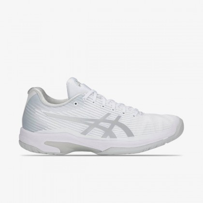 Asics Solution Speed FF White Silver Tennis Shoes Online at Best Price, Reviews