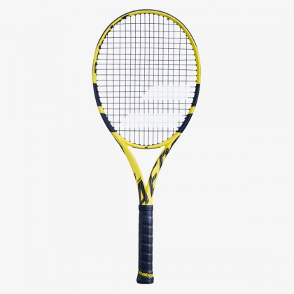 Babolat Pure Aero (300 g) Yellow Black Tennis Racquet Online at Best Price, Reviews