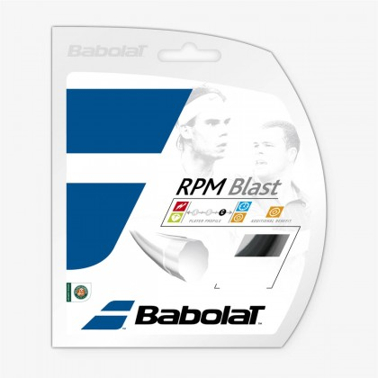 Babolat Rpm Blast 12M 16 Gauge Black Tennis String Set  Online at Best Price, Reviews