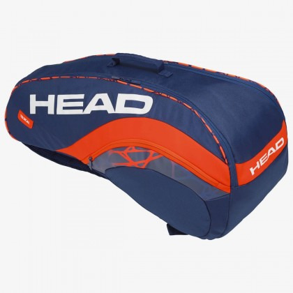 HEAD Radical 6R Combi Blue/Orange Tennis Kit Bag (6 Racquets) Online at Best Price, Reviews