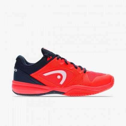 HEAD Junior Revolt Pro 2.5 Neon Red/Dark Blue All Court Tennis/Badminton Shoes Online at Best Price, Reviews