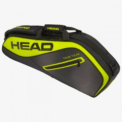 HEAD Tour Team Extreme 3R Pro Black/Neon Yellow Tennis Kit Bag (3 Racquets) Online at Best Price, Reviews