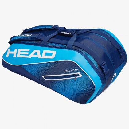 HEAD Tour Team 12R MonsterCombi Navy Blue Tennis Kit Bag (12 Racquets) Online at Best Price, Reviews