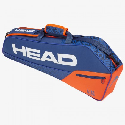 HEAD Core 3R Pro Blue/Orange Tennis Kit Bag (3 Racquets) Online at Best Price, Reviews
