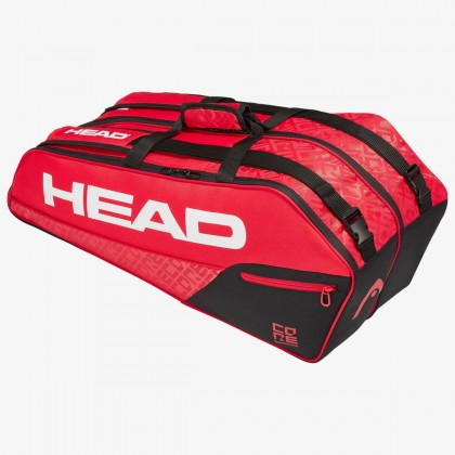 HEAD Core 6R Combi Black/Red Tennis Kit Bag (6 Racquets) Online at Best Price, Reviews