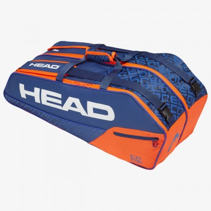 HEAD Core 6R Combi Blue/Orange Tennis Kit Bag (6 Racquets) Online at Best Price, Reviews