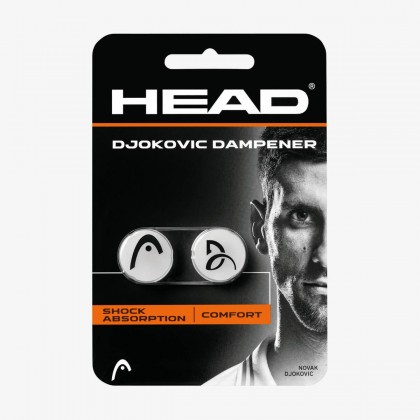 HEAD Djokovic White Tennis Racquet Dampener  Online at Best Price, Reviews