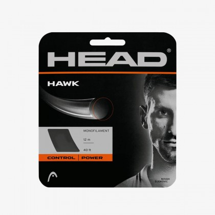 HEAD Hawk 17 Gauge Grey Racquet String Set Online at Best Price, Reviews