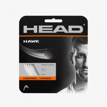 HEAD Hawk 18 Gauge White Racquet String Set Online at Best Price, Reviews