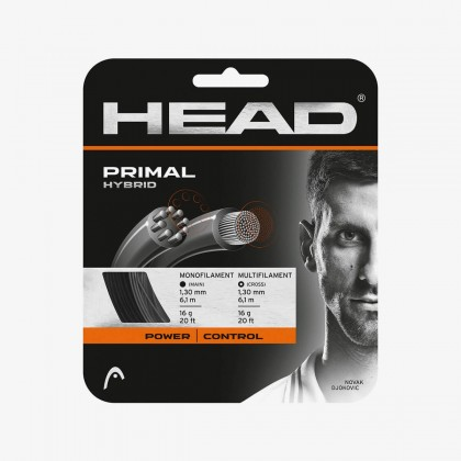 HEAD Primal Hybrid 16 Gauge Anthracite Racquet String Set Online at Best Price, Reviews