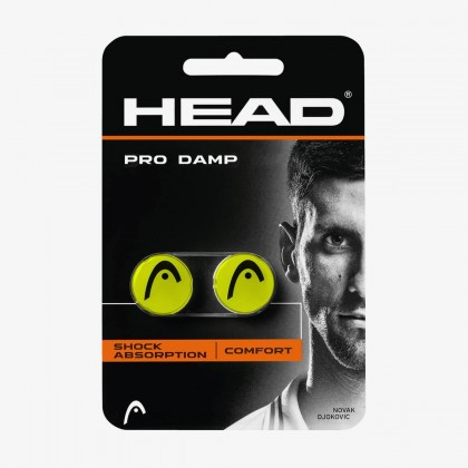 HEAD Pro Damp Yellow Tennis Racquet Dampener  Online at Best Price, Reviews