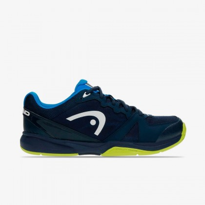 HEAD Revolt Team Men 2.5 Black Iris/Apple Green Allcourt Tennis Shoes Online at Best Price, Reviews