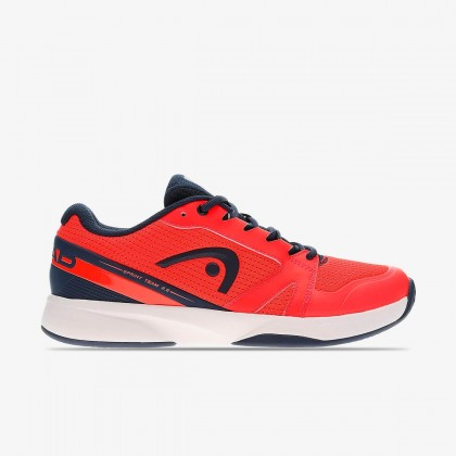 HEAD Sprint Team Men 2.5 Neon Red/Dark Blue Allcourt Tennis Shoes Online at Best Price, Reviews