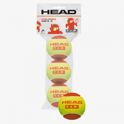 HEAD T.I.P. I Red Tennis Balls - 3 Ball Online at Best Price, Reviews