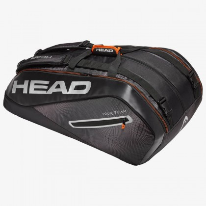 HEAD Tour Team 12R MonsterCombi Black/Silver Tennis Kit Bag (12 Racquets) Online at Best Price, Reviews