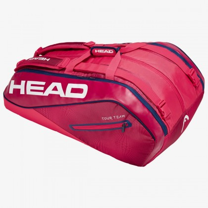 HEAD Tour Team 12R MonsterCombi Red/Navy Tennis Kit Bag (12 Racquets) Online at Best Price, Reviews