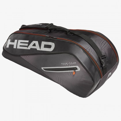 HEAD Tour Team 6R Combi Black/Silver Tennis Kit Bag (6 Racquets) Online at Best Price, Reviews