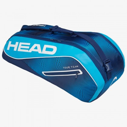 HEAD Tour Team 6R Combi Navy Blue Tennis Kit Bag (6 Racquets) Online at Best Price, Reviews