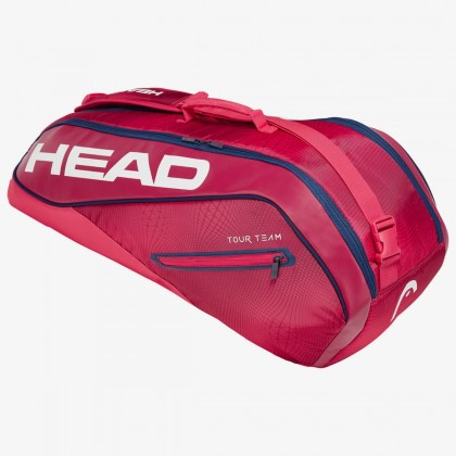 HEAD Tour Team 6R Combi Red/Navy Tennis Kit Bag (6 Racquets) Online at Best Price, Reviews