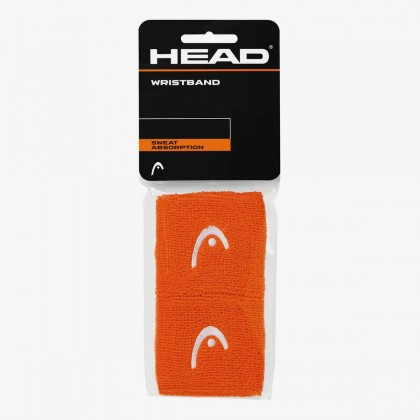 "HEAD Wristband 2.5"" Orange (Pack of 2) Online at Best Price, Reviews"