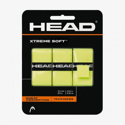 HEAD Xtremesoft™ Yellow Tennis Racquet Overwrap/Grip Online at Best Price, Reviews