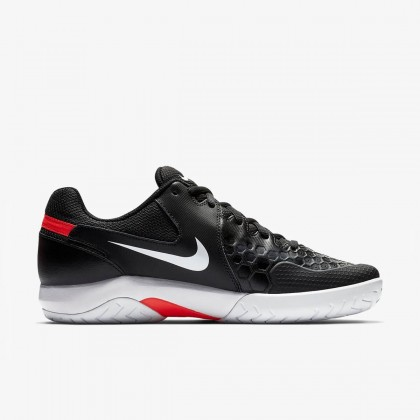 Nike Court Air Zoom Resistance Black/Bright Crimson/White Tennis Shoes Online at Best Price, Reviews