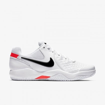Nike Court Air Zoom Resistance White/Bright Crimson/Black Tennis Shoes Online at Best Price, Reviews