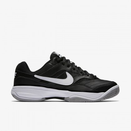 Nike Court Lite Black/White Medium Grey Tennis Shoes Online at Best Price, Reviews