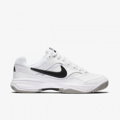 Nike Court Lite White/Black Medium Grey Tennis Shoes Online at Best Price, Reviews