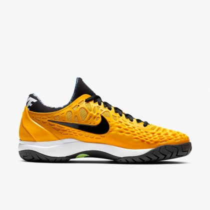 Nike Court Zoom Cage 3 University Gold/White/Volt Hard Court Tennis Shoe Online at Best Price, Reviews