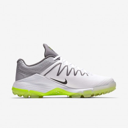 Nike Domain 2 NS White/Wolf Grey Unisex Cricket Rubber Spike Shoes Online at Best Price, Reviews