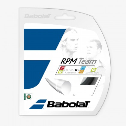 Babolat Rpm Team 12M 16 Gauge Black Tennis String Set  Online at Best Price, Reviews
