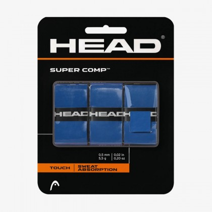 HEAD Supercomp™ Blue Tennis Racquet Overwrap/Grip (Pack of 3) Online at Best Price, Reviews