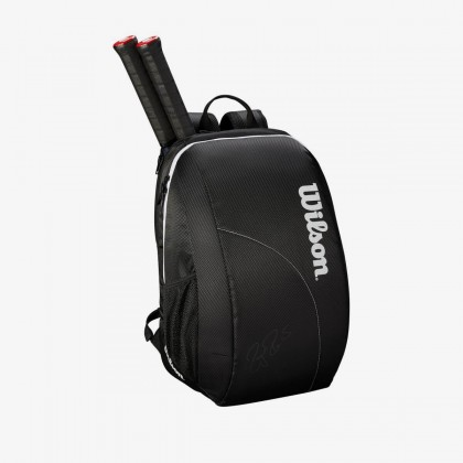 Wilson Fed Team 2018 Backpack Black Tennis Bag Online at Best Price, Reviews