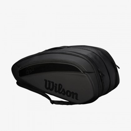 Wilson Federer DNA 2018 12 Pack Black Tennis Bag Online at Best Price, Reviews