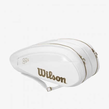 Wilson Federer DNA 2018 12 Pack White Tennis Bag Online at Best Price, Reviews