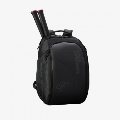 Wilson Federer DNA 2018 Black Backpack Tennis Bag Online at Best Price, Reviews