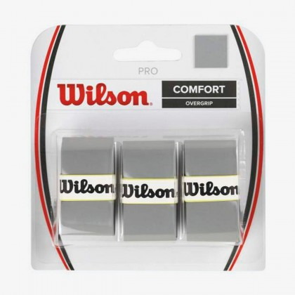 Wilson Silver Pro Comfort Overgrip Tennis Racquet Overwrap/Grip Pack of 3 Online at Best Price, Reviews