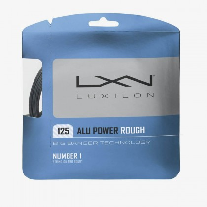 Wilson Luxilon ALU Power 125 16 Gauge Rough Silver/Grey Racquet Tennis String Set Online at Best Price, Reviews