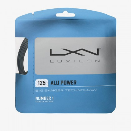 Wilson Luxilon ALU Power 125 16 Gauge Grey Tennis String Set  Online at Best Price, Reviews
