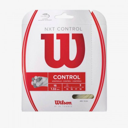 Wilson NXT Control 16 Gauge Natural Tennis String Set  Online at Best Price, Reviews