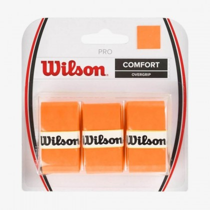 Wilson Orange Pro Confort Overgrip Tennis Racquet Overwrap/Grip Pack of 3 Online at Best Price, Reviews